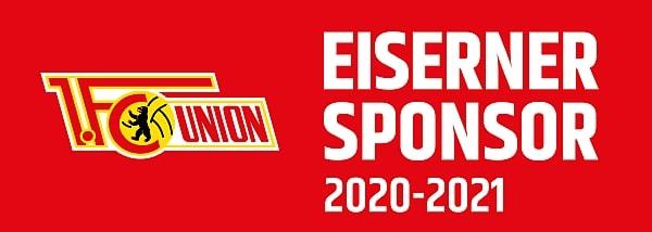 Eiserner Sponsor vom 1. FC Union Berlin